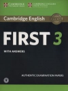 Cambridge English First 3 Authentic Examination Papers with answers with audio