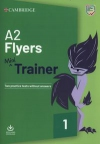 A2 Flyers mini Trainer Two practice tests bez klucza + audio download