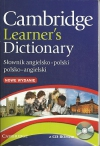 Cambridge Learner's Dictionary +CD-Rom (oprawa miękka)