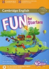 Fun for Starters 4th edition  Student's Book with Online Activities with Audio and Home Fun Booklet 2