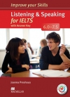 Listening and Speaking for IELTS 6.0-7.5 Podręcznik + odpowiedzi + kod online