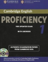 Cambridge English Proficiency 1 + 2 CDs + answers
