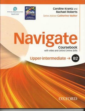 Navigate Upper-Intermediate Podręcznik + Video+ Oxford Online Skills