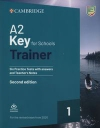 A2 Key for Schools Trainer 1 for the Revised Exam from 2020 Six Practice Tests with Answers and Teacher's Notes with Downloadable Audio ( wyprzedaż )