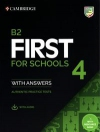 B2 First for Schools 4 Student's Book with Answers with Audio with Resource Bank