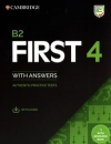 Cambridge B2 First 4 with answers. Authentic practice tests with audio