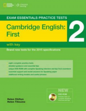Exam Essentials Practice Tests Cambridge English: First (FCE) 2 with key with audio CD
